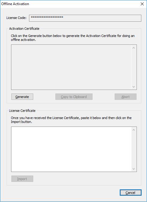OfflineActivation